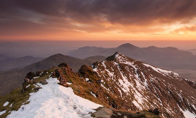 Snowdon South Ridge by Nick Livesey
