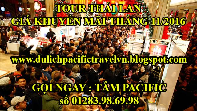tour du lịch thái lan giá khuyến mãi tháng 11 năm 2016
