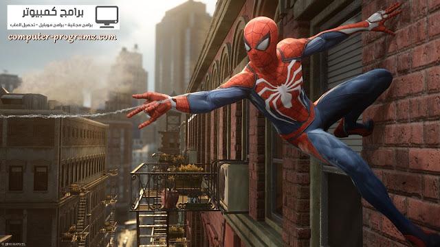 #2 لعبة New Spiderman لاجهزة البلايستيشن PS4 2017 الجديدة