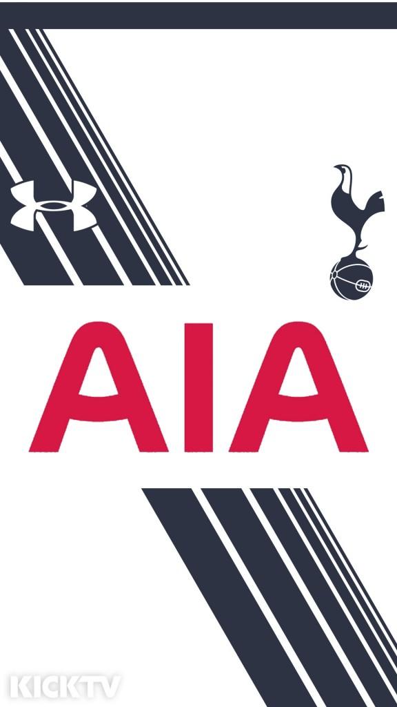 Tottenham Iphone 4 Wallpaper Premier League 15 16 Kit Mobile Wallpapers Footy Headlines