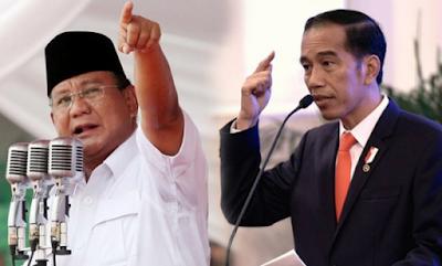 Inilah calon Wakil Presiden Prabowo dan Jokowi saat Pilpres 2019