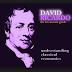 Teori Ekonomi David Ricardo