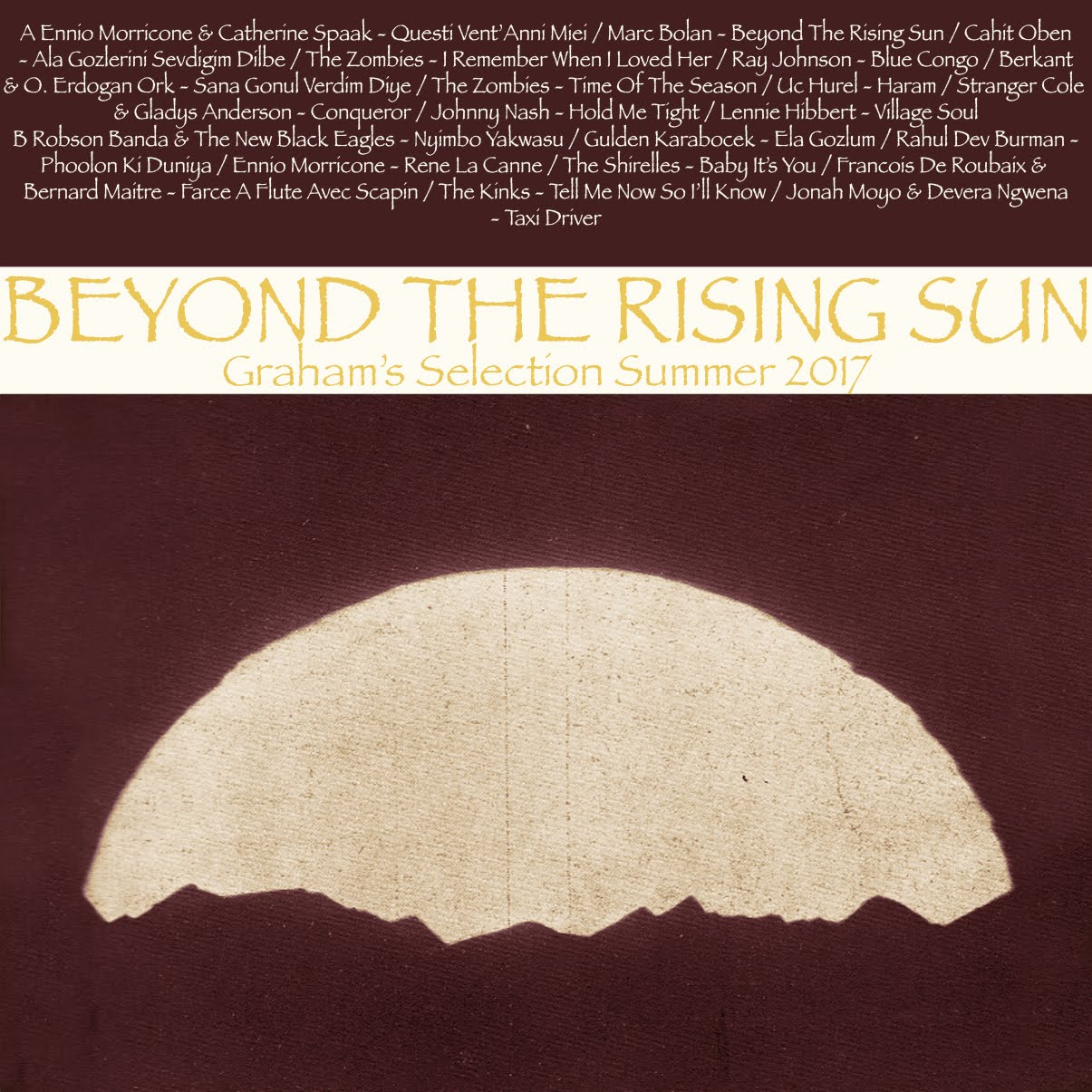 GRHM#10 - BEYOND THE RISING SUN