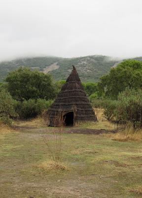 Cabañas típicas en Cabañeros
