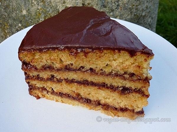 Moist Chocolate Cake Recipes Uk: Vegan Magic: Super Moist Orange Cake With Chocolate Ganache