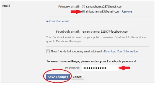 How to change email address on facebook currently you will certainly have the ability to open your facebook account using your new included email id you could likewise use your old e mail id to ccuart Images