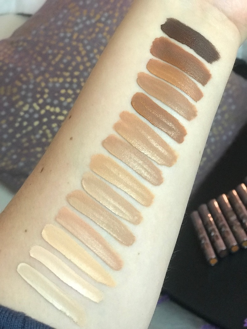 All Nighter Concealer Swatches, What Shade Are You?