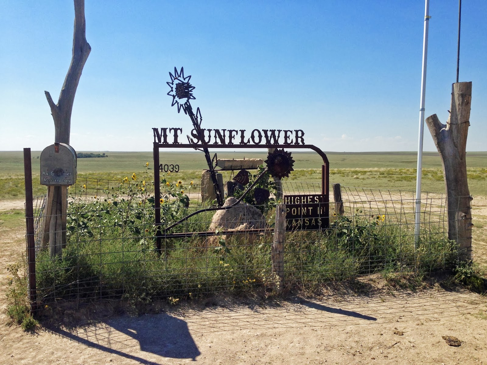 Close to Home Mount Sunflower - Climber.Org Trip Report