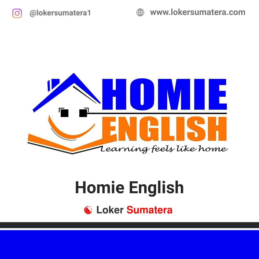 Lowongan Kerja Pekanbaru: Homie English Juni 2020