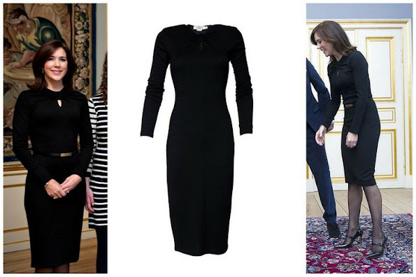 Crown Princess Mary of Denmark wore Elise Gug Black Dress. Style of Princess Mary