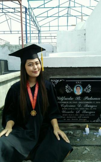 """Sige wag ka nang pumasok, Wag ka nang mag-aral"" College Graduate Shares How Her Father Pushed Her To Finish Her Studies"