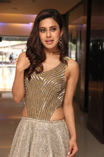 Ranya Rao Stills in Sleeveless Long Dress Wagah Audio Launch ~ Bollywood and South Indian Cinema Actress Exclusive Picture Galleries