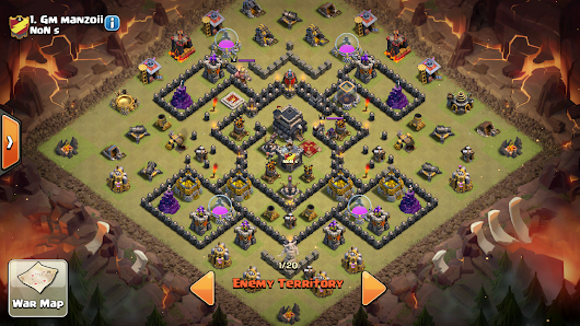 Best Clash Of Clans Base War By Gm Manzoii