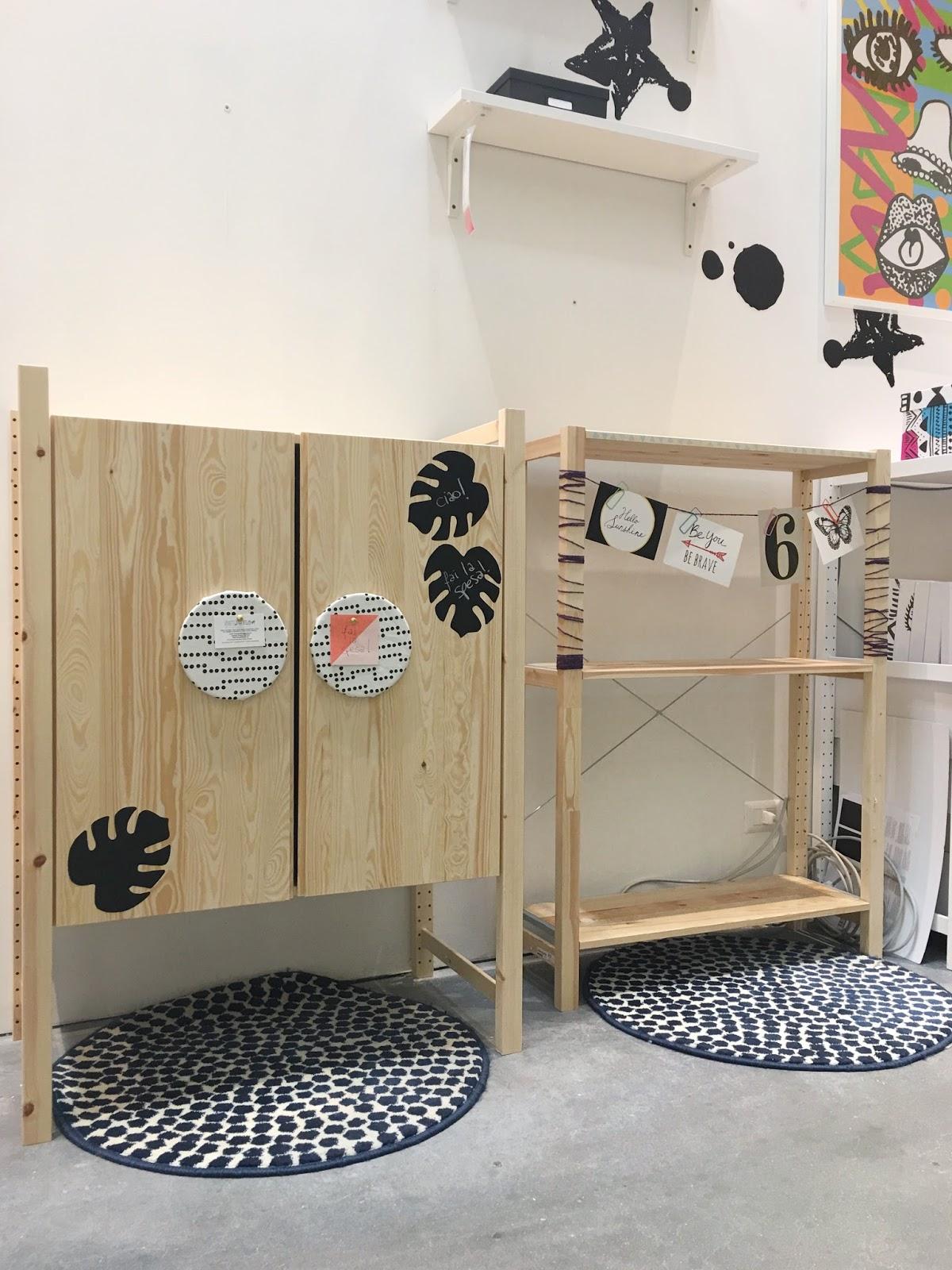 Ikea Scaffali Legno Ivar vivere a piedi nudi living barefoot: 6 idee per