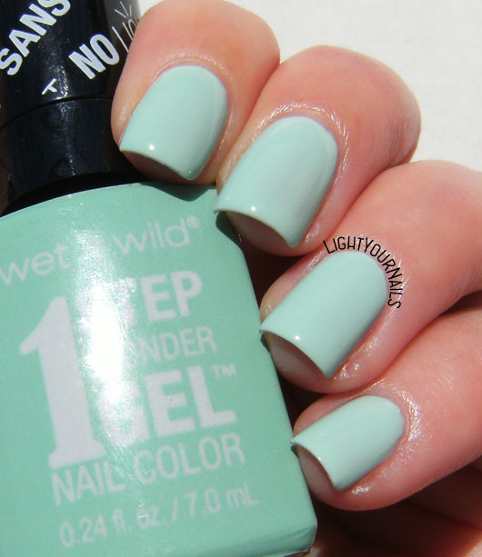 Wet'n'Wild Pretty Peas smalto nail polish