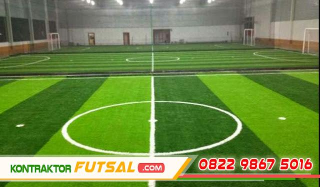 Biaya Pembangunan Lapangan Futsal Indoor Sederhana Terbaru 2017