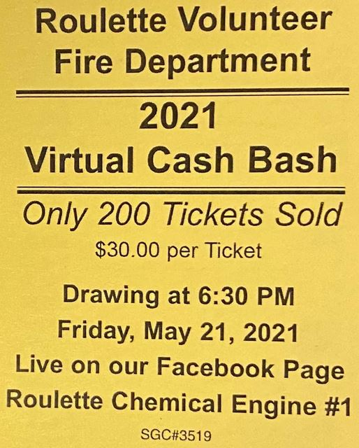 5-21 Roulette VFD Virtual Cash Bash