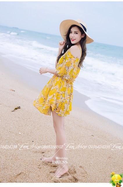 Cua hang ban vay maxi di bien tai Quang An
