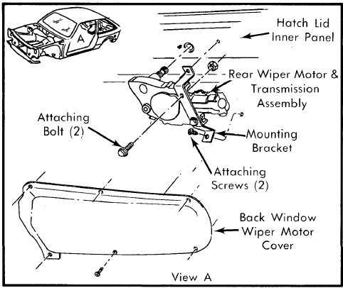 Wexco wiper diagram on