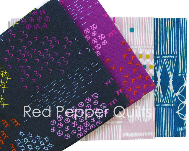 Macrame by Rashida Coleman-Hale for Cotton + Steel | Red Pepper Quilts 2016