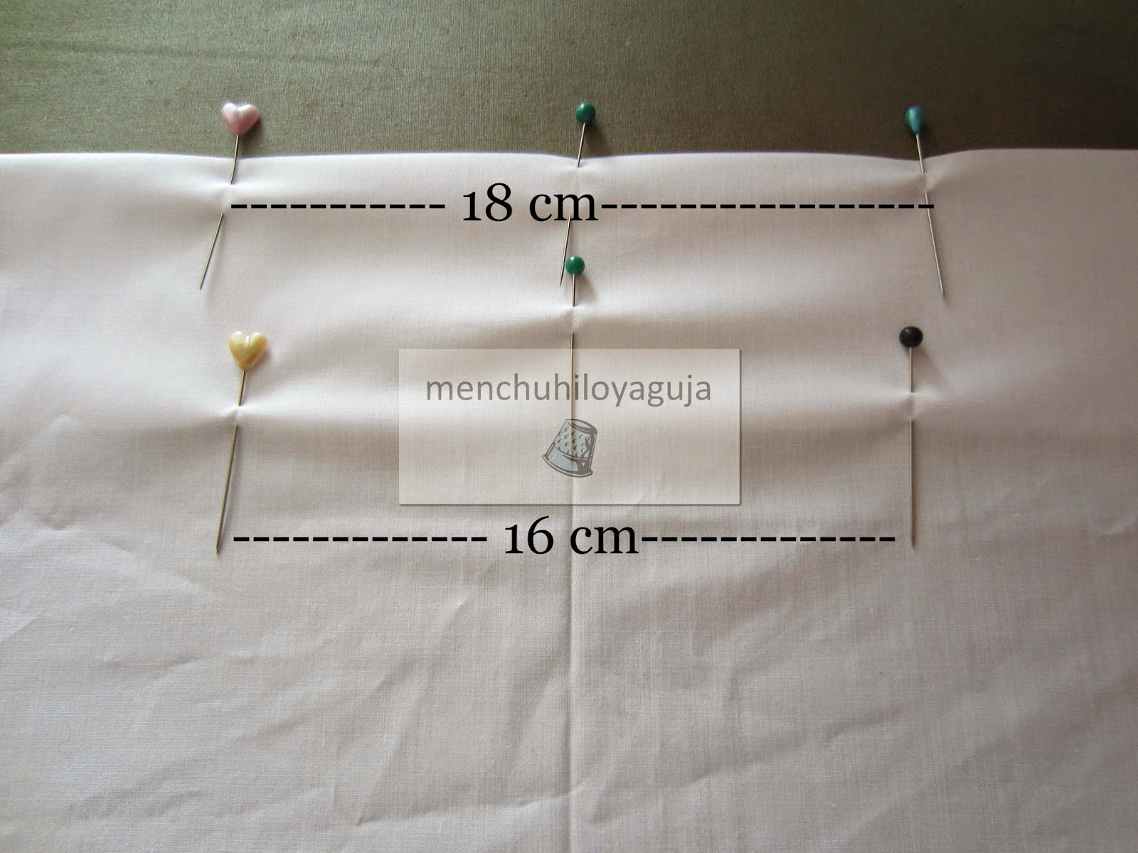 Patrones de costura visillos o cortinas con pinza - Formas de cortinas ...