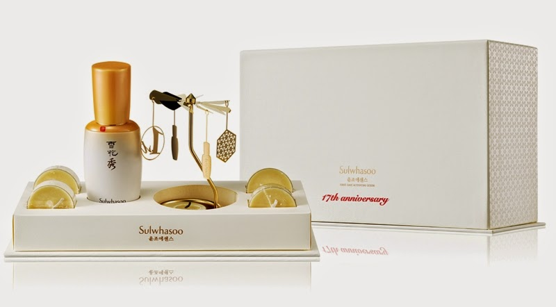 Sulwhasoo First Care Activating Serum Mother-of-Pearl Limited Edition, Sulwhasoo First Care Rotary Candle Set.