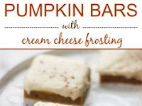 Pumpkin Bars with Cream Cheese Frosting Recipe