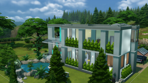 Sims 4 Residential Lot