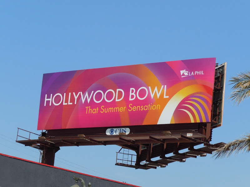 Hollywood Bowl 2010 billboard