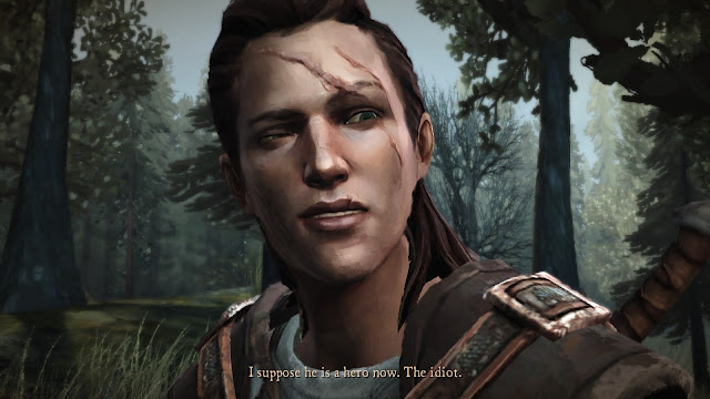 Screenshot of Telltale's Game of Thrones computer game