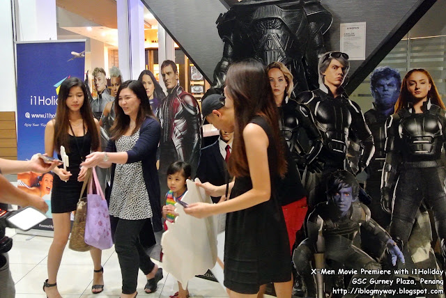 X-Men Movie Premiere with i1Holiday