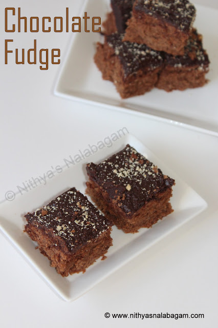 Chocolate Fudge Squares