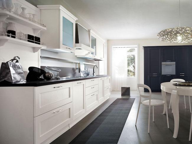 Le cucine moderne prediligono lo stile minimal, con superfici lisce e ampi spazi liberi che. Arredare La Cucina Stile Classico O Moderno La Gatta Sul Tetto