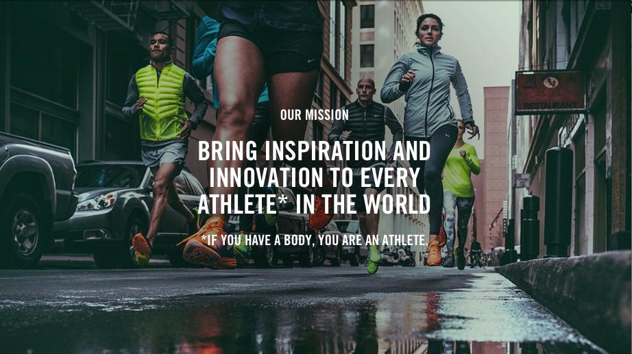 Alaska Cumplir Hostal  Nike'Justdoit' Blog- Hector Martinez: Nike Inc Mission Statement