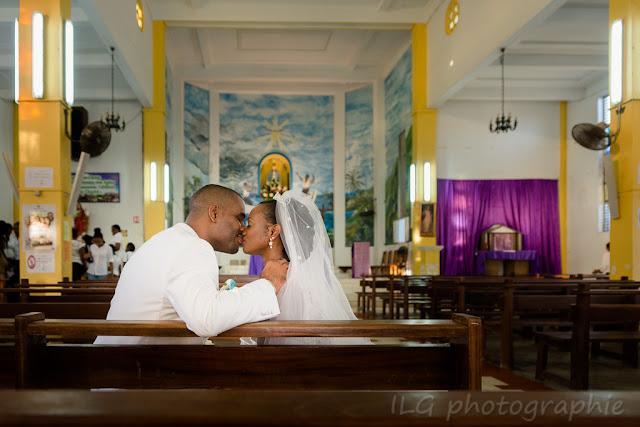 mariage guadeloupe église Petit-Bourg