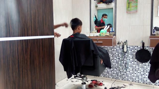 gaya rambut anak laki-laki