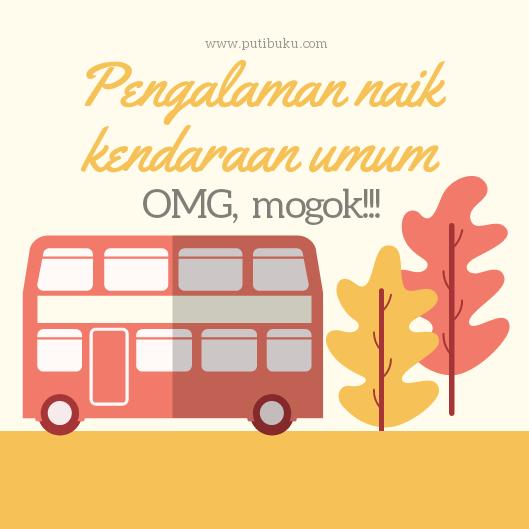 Pengalaman naik kendaraan umum dan hal yang harus dipersiapkan