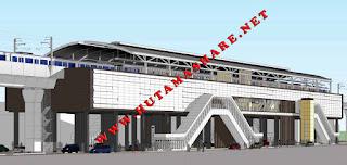Kumpulan beberapa ANGKOT Angkutan Umum yang Menuju melewati Stasiun MRT cipete raya