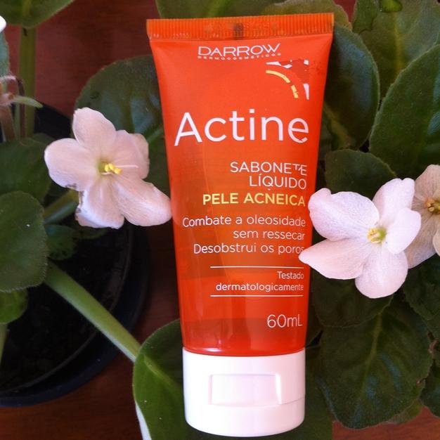 Resenha: Actine Sabonete Liquido Facial Para Pele Acneica - Darrow