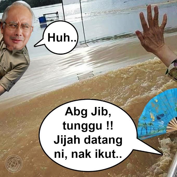 [Video] Wan Azizah Terhegeh² Kejar Perdana Menteri Nak Claim Mileage Depan Mangsa Banjir #Pray4Penang