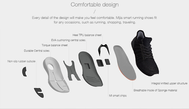 last chance xiaomi mijia smart shoes only for 65 99