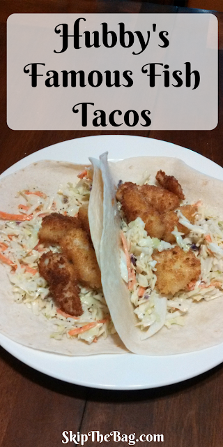 Easy, delicious fresh tasting fish tacos.