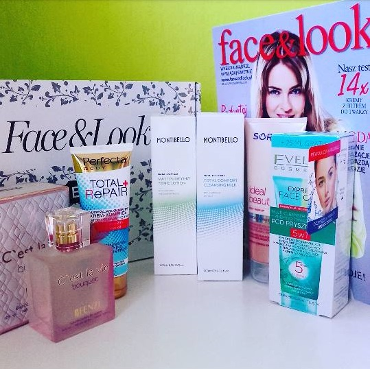 Face&look box - pudełko pełne kosmetyków ! :)