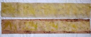 bidulafil ecodye madder cotton+silk steam vs simmer