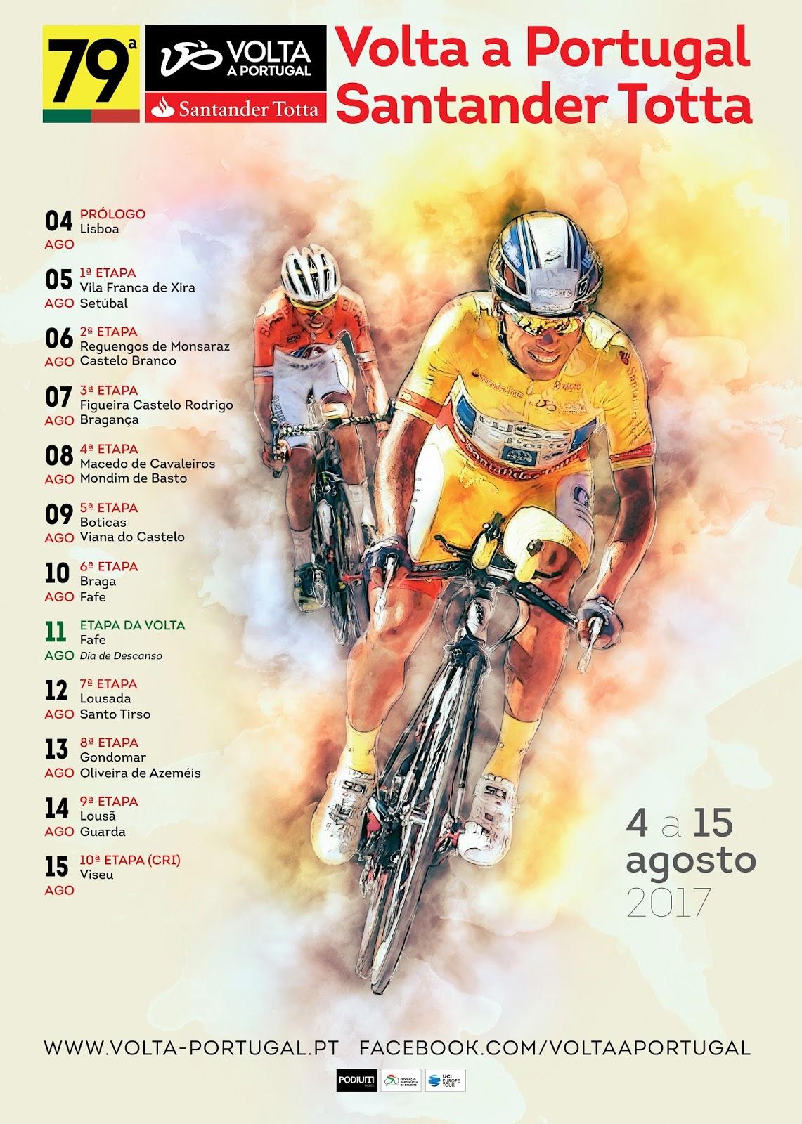"""6862a75aef """"79ª Volta a Portugal em Bicicleta Começou a contagem decrescente…"""""""
