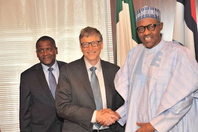 Main Reasons World Famous Billionaire Bill Gate Visited Nigeria (photos)