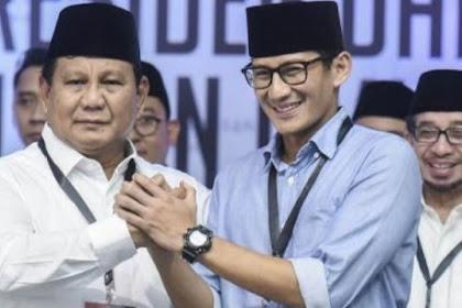 Prabowo - Sandiaga: Fight 'till The End, Never Surrender...