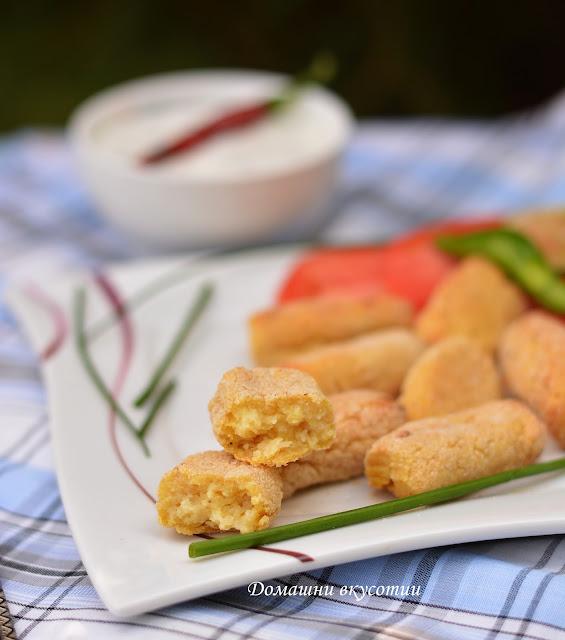 Картофени крокети на фурна
