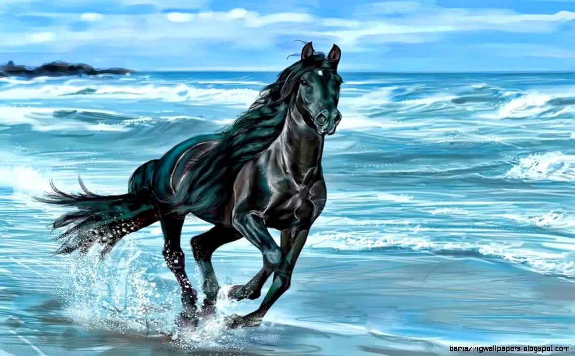 Running Horses Wallpaper Desktop