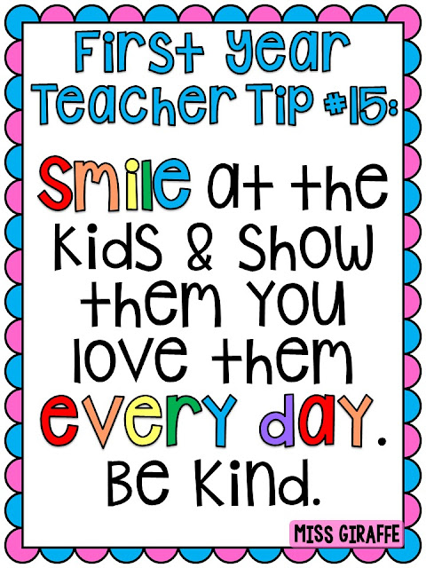 Awesome first year teacher tips!